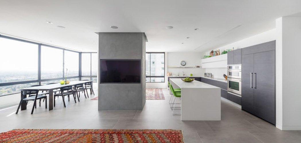 #danbrunn #thediplomat #apartment #wilshirecorridor #california #glass #windows #diningroom #livingroom #fireplace #interior  The Diplomat Apartment