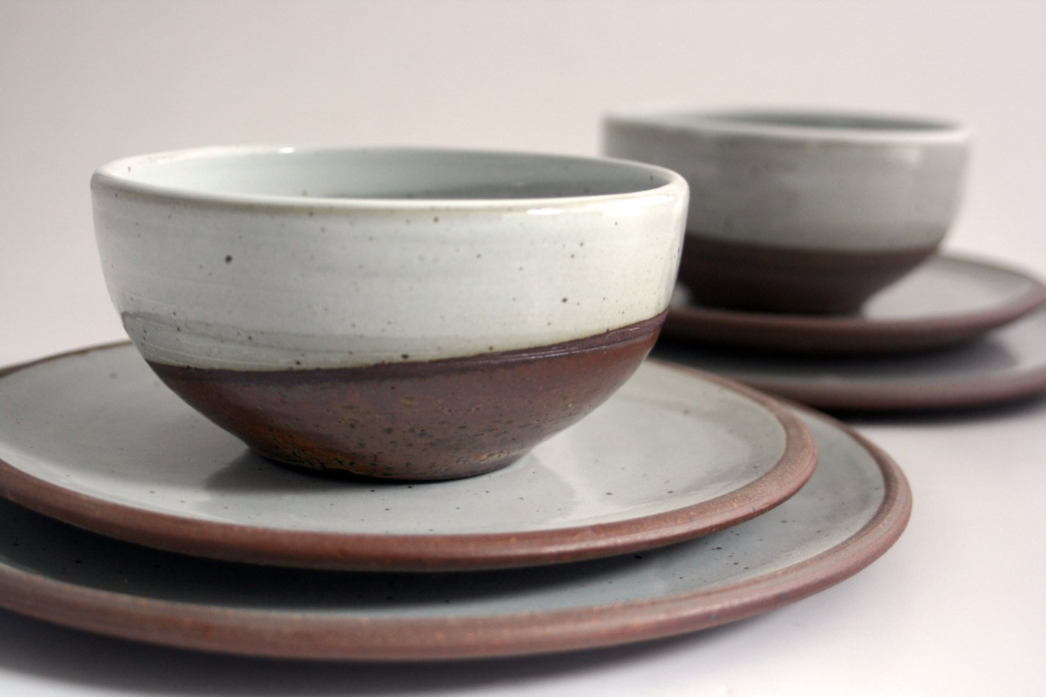 Tableware by Cincinnati-based ceramics artist Bethany Rose Kramer. I'm going to mix a few of her pieces with my everyday plates, which are Heath Ceramics Rim series.  Square Meal