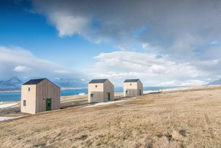 Three modern houses at Sunnuhlíð are ideal for couples and families, and boast astounding views in a rural setting.