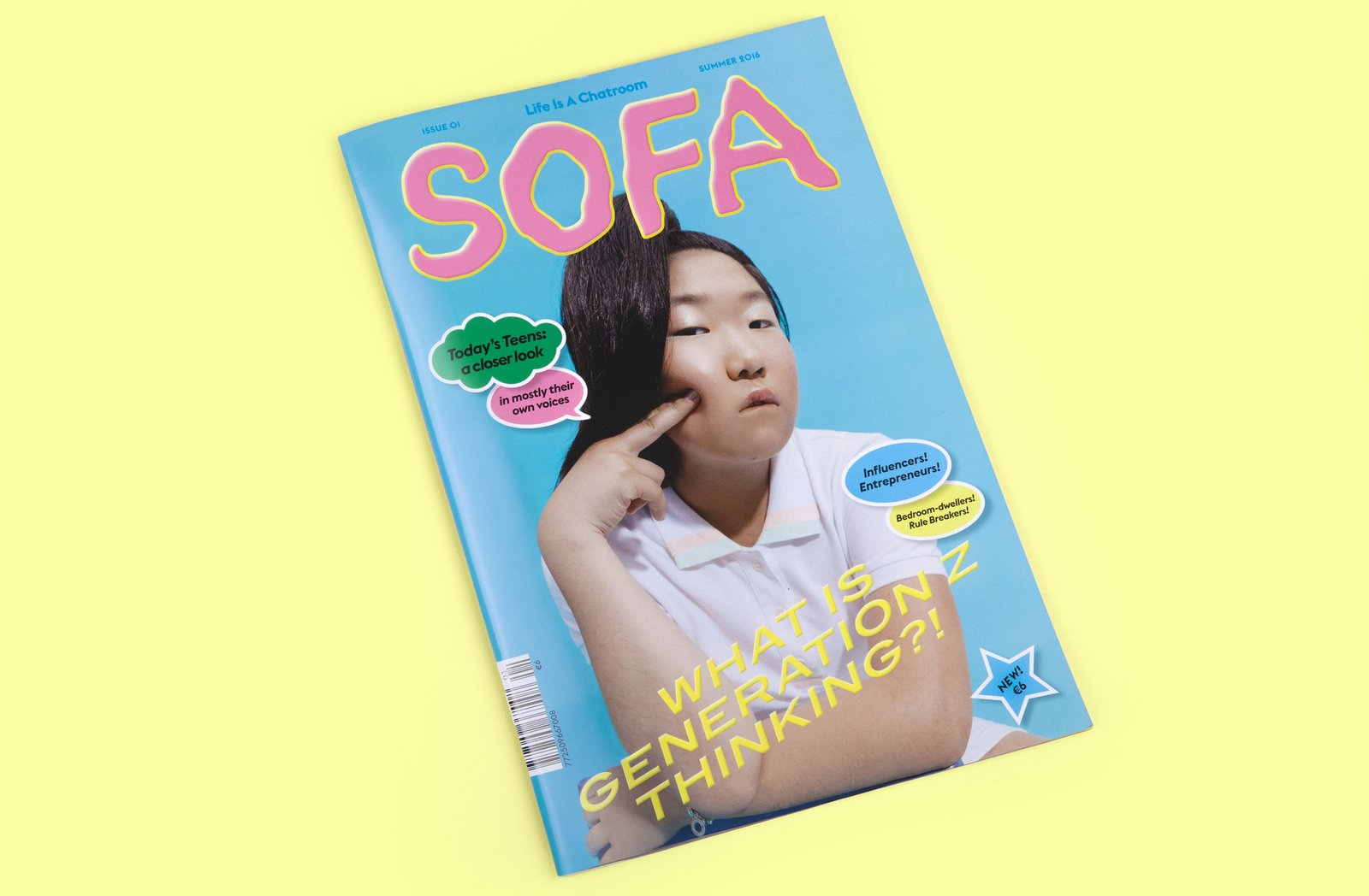 A new magazine, guest-edited by a 16 year old! What WILL they think of next. #printsnotdead  Graphic Design and Illustration