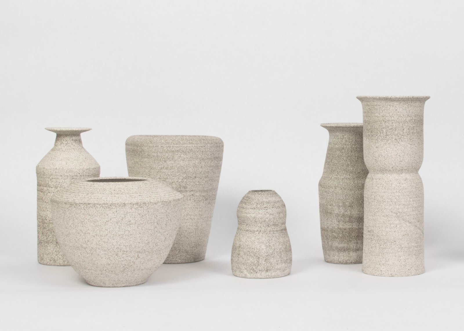 Natalie Weinberger's ceramics collection for Still House, made from recycled materials.  Hand-thrown and Glazed