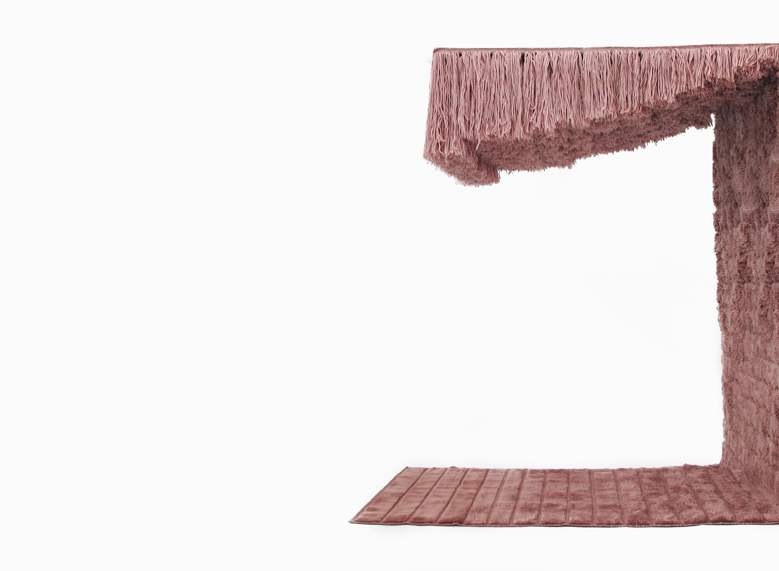 Part rug, part wall-hanging and ceiling adornment, Bower designed the Nirvan Rug in a limited edition collaborative collection with Studio Proba, called Zendo.  How to Frame Space With a Graphic Rug by Aileen Kwun
