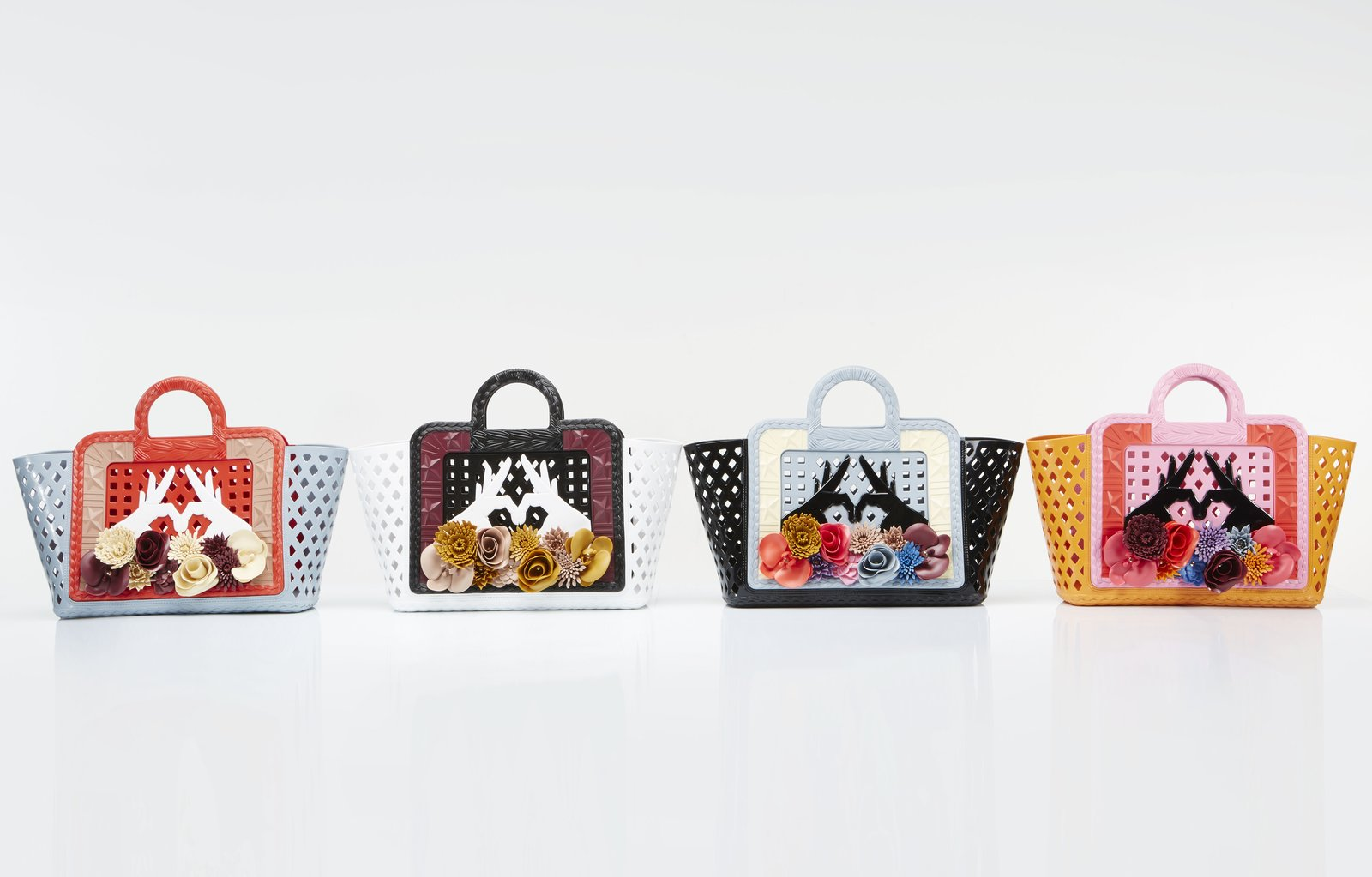 Continuing its ongoing collaborations with fashion designers, Kartell has just teamed with Paula Cademartori as part of a project with the Milanese department store La Rinascente. Called Parati, the capsule collection includes a series of colorful sandals and handbags (shown), made with injected plastic and inspired by Rio de Janeiro's Botanical Garden.  From the Editors' Inbox: October 2016