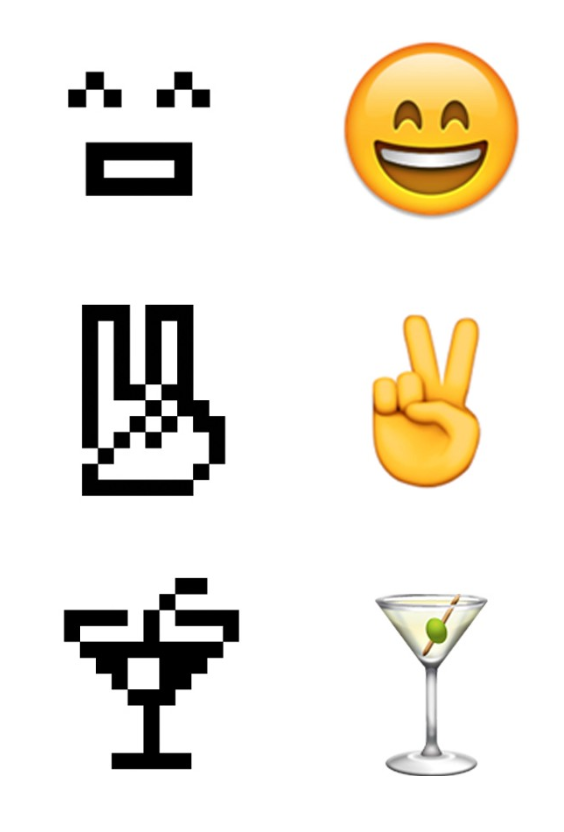 "New York's Museum of Modern Art has just announced the acquisition of NTT DOCOMO's original set of 176 emoji, first designed for cell phones in 1999, to its permanent collection, citing: ""These 12 x 12 pixel humble masterpieces of design planted the seeds for the explosive growth of a new visual language."" The now-ubiquitous glyph set joins other digital designs, such as the '@' symbol and a series of video games, which were acquired by the Architecture and Design department in 2010 and 2012, respectively.  Graphic Design and Illustration"