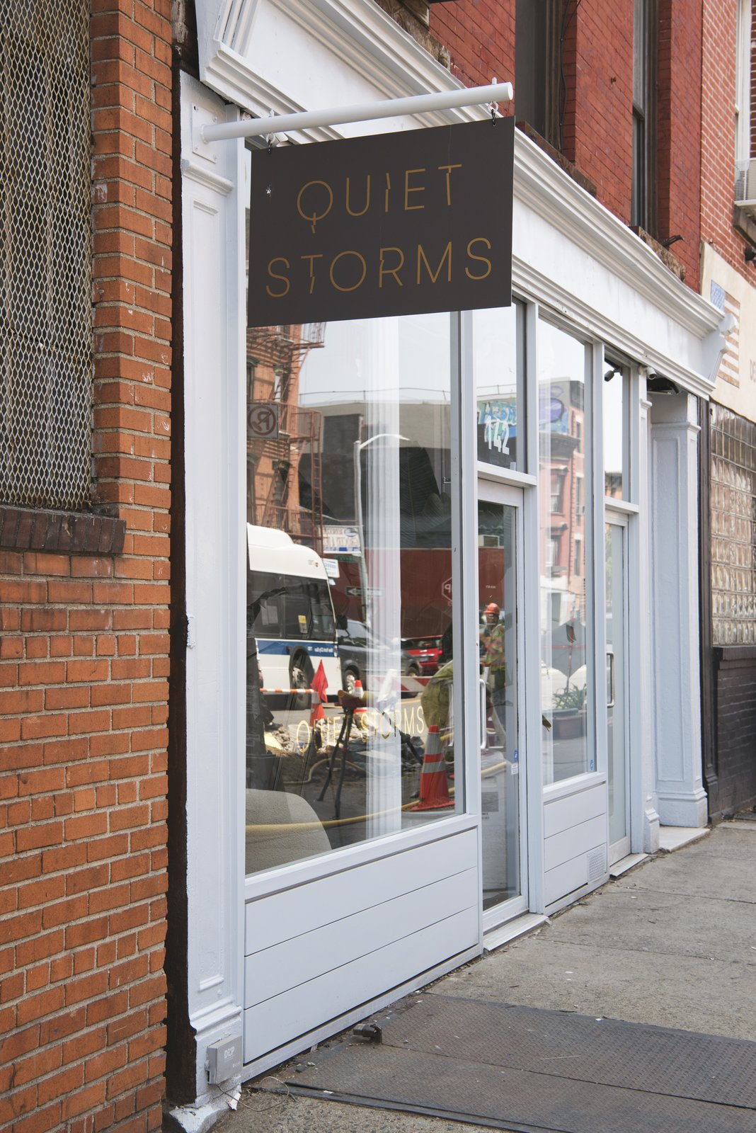 The shop is located on a busy commercial stretch of Grand Street in Williamsburg.  Photo 3 of 7 in This Brooklyn Boutique Is an Oasis of Calm in the Busy City