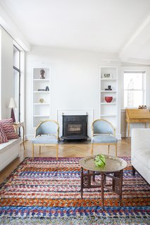 This bright and airy West Village duplex was renovated by Fogarty Finger for a family who moved from just three floors below. The apartment had been previously occupied by the same resident for 50 years. A Moroccan theme now runs through the home.  Photo by Howie Guja Styling by Gorilla Styling