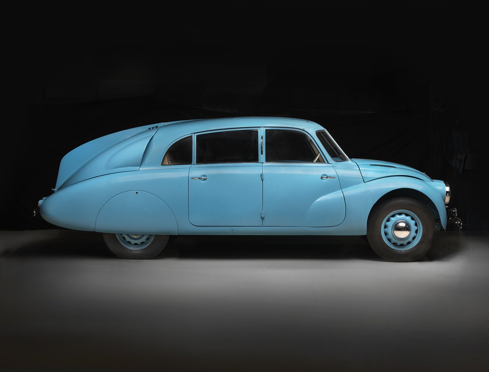 1940 Tatra T87, Collection of Chris Ohrstrom  Photo 7 of 15 in Examining the Architecture of the Art Deco Automobile