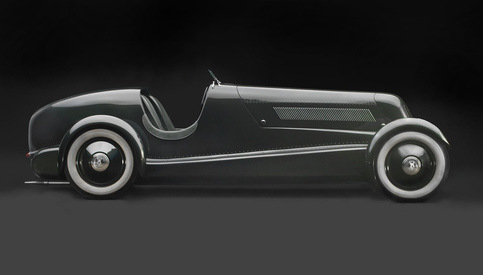 1934 Edsel Ford's Model 40 Speedster, Courtesy of the Edsel and Eleanor Ford House  Photo 14 of 15 in Examining the Architecture of the Art Deco Automobile