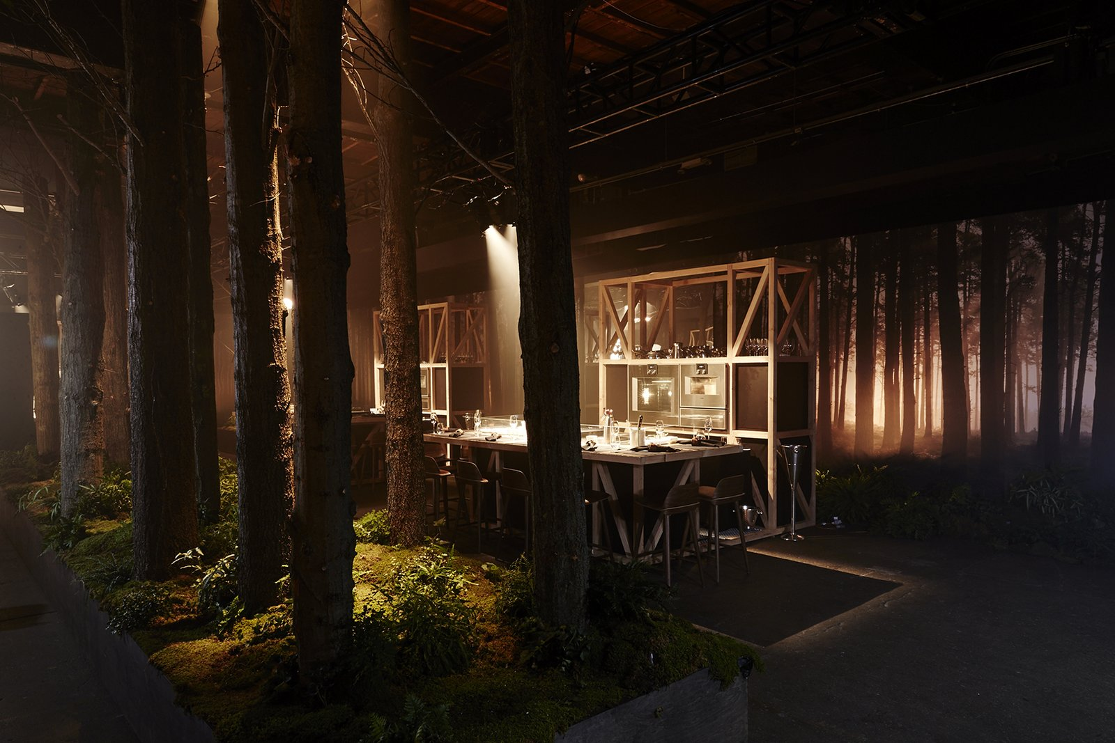 To celebrate their 333rd anniversary, appliance brand Gaggenau created Restaurant 1683, a four-night pop-up that brought the Black Forest to New York City.  gaggenau.com  From the Editors' Inbox: October 2016