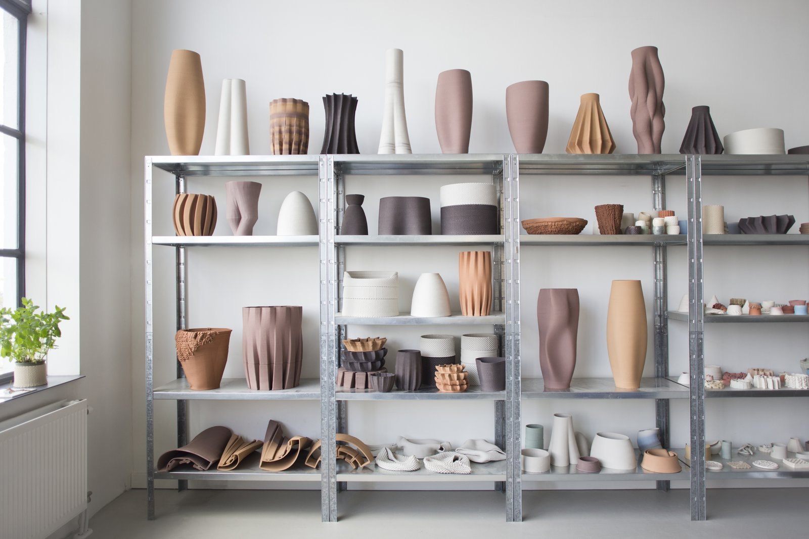 This year's New Material Award prize goes to Olivier van Herpt, who designed and built a 3D printer that can deposit layers of undiluted clay with fine detail.   newmaterialaward.nl  From the Editors' Inbox: October 2016