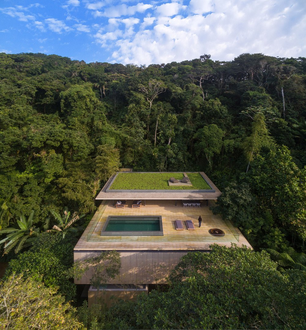 This São Paulo jungle oasis by Studio MK27 was chosen for the completed residential category.  outdoors from Could One of These  Game-Changing Projects Define 2016?