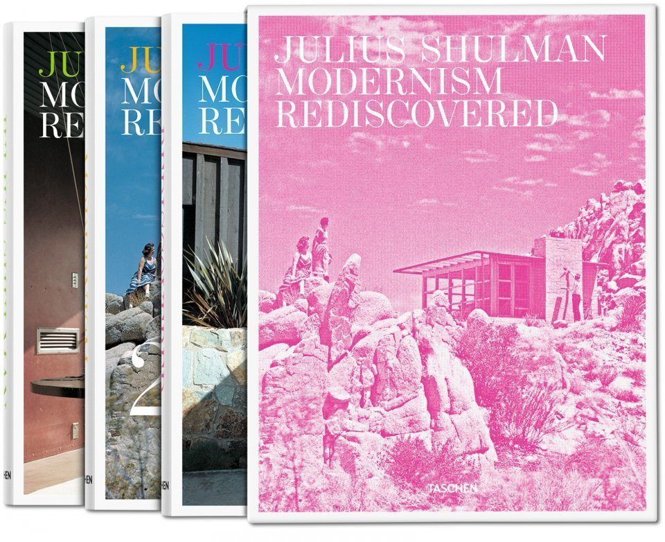 """Julius Shulman: Modernism Rediscovered"" chronicles more than 400 architectural masterstrokes captured by the late photographer Julius Shulman. The focal point is Southern California, Shulman's home, but the three-volume book also features work from the rest of the U.S., Mexico, Israel, and Hong Kong.   Bask in the Retro Glow of Photos from Postwar SoCal (and Beyond)"