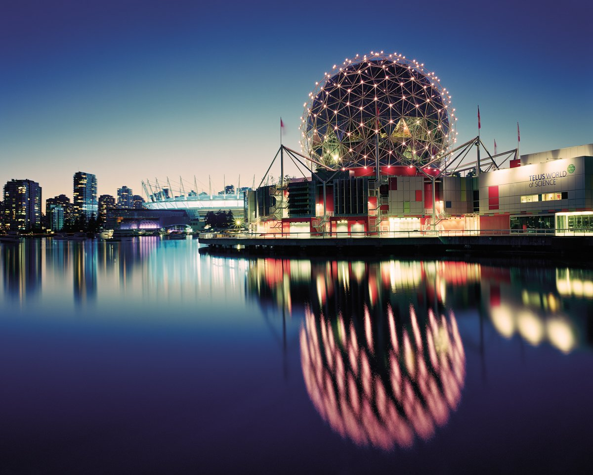 Vancouver 1986 World's Fair, World Exposition on Transportation and Communication, Science Center/Expo Center '86, 2014. Photo by Jade Doskow  8 Otherworldly Photos of What the Future Was Supposed to Look Like