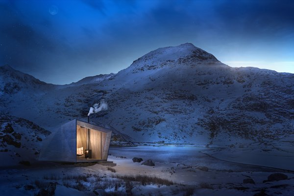 Arthur's Cave, by Miller Kendrick Architects, references King Arthur and will be insulated with locally sourced sheep's wool.  Photo 4 of 4 in Passage of Time