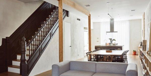 Tiny Home Designs: Bedford-Stuyvesant Brownstone Modern Home In New York, New