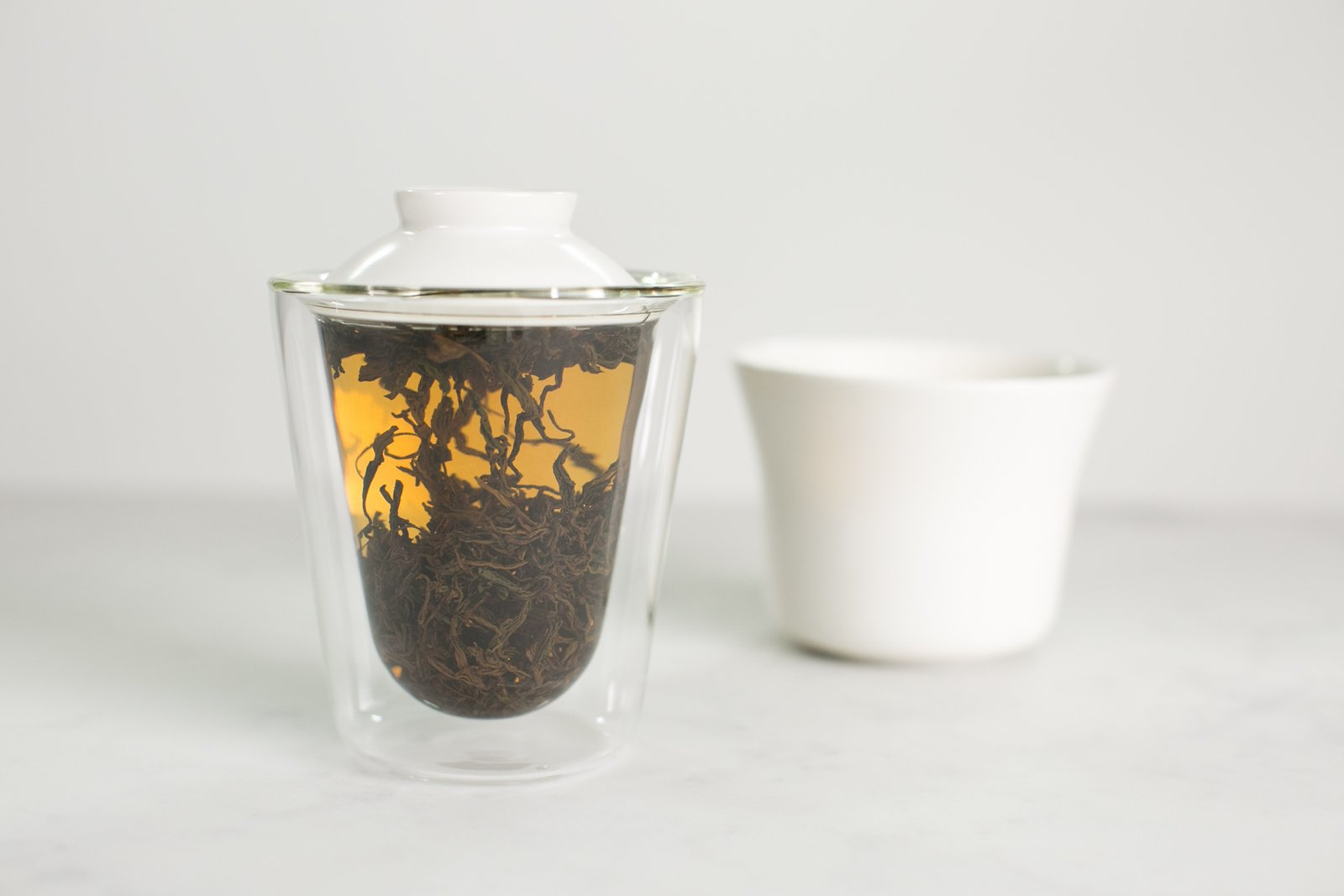 The tea maker infuses the scents and flavors during the steeping process.  Photo 5 of 7 in A New Prototype Design Asks:  Is Tea The New Coffee?