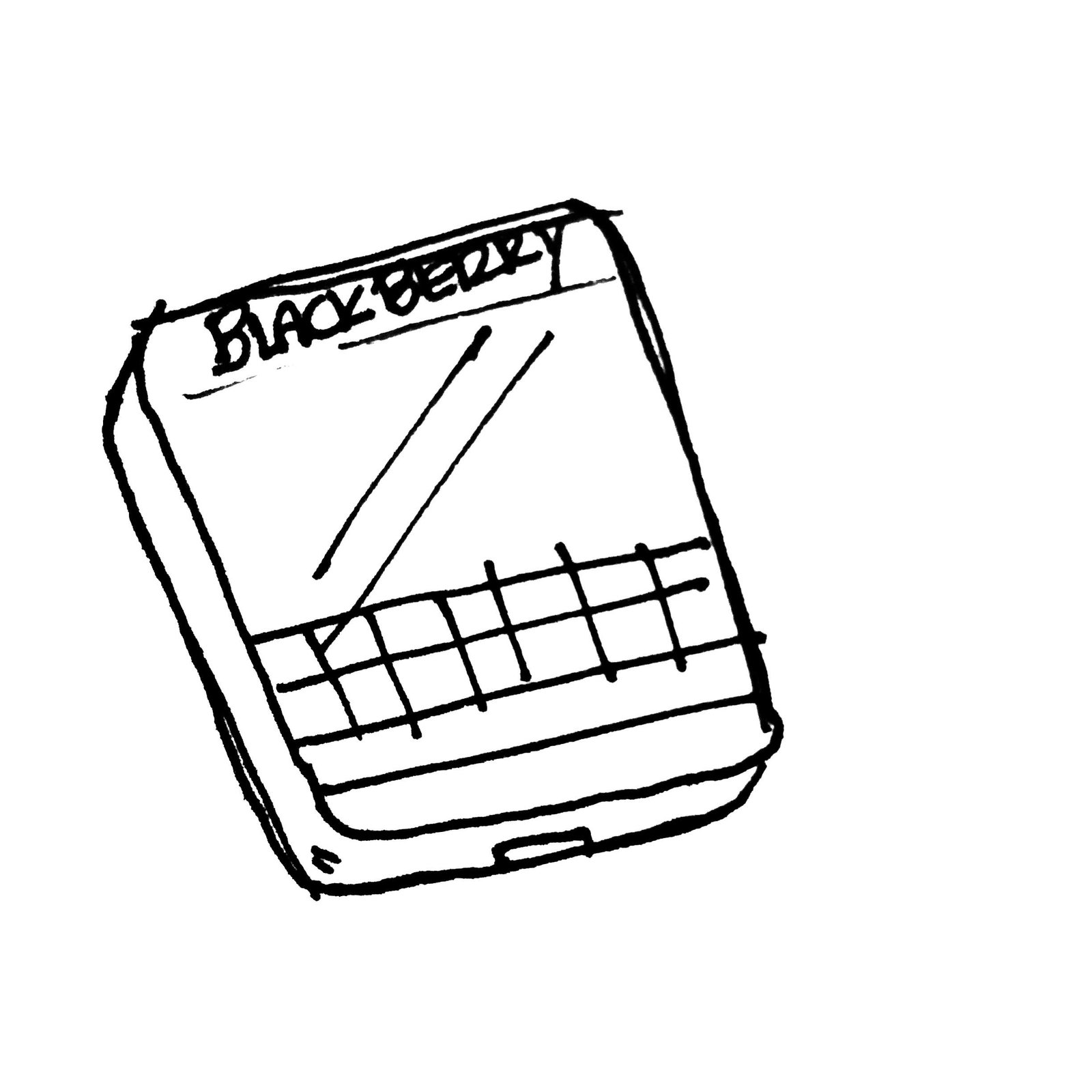 BlackBerry Passport.  Photo 4 of 7 in Napkin Sketches
