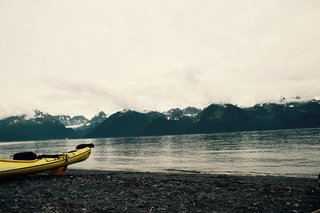 Kayakin' in Resurrection Bay, Alaska