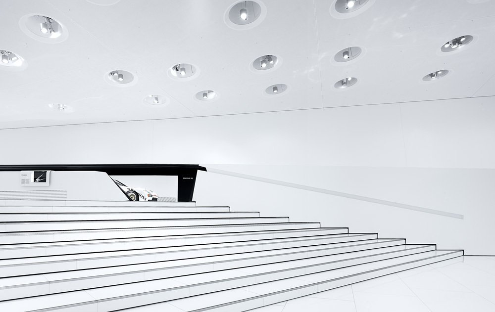 The Porsche Museum in Zuffenhausen, Germany   Way-Finding Systems