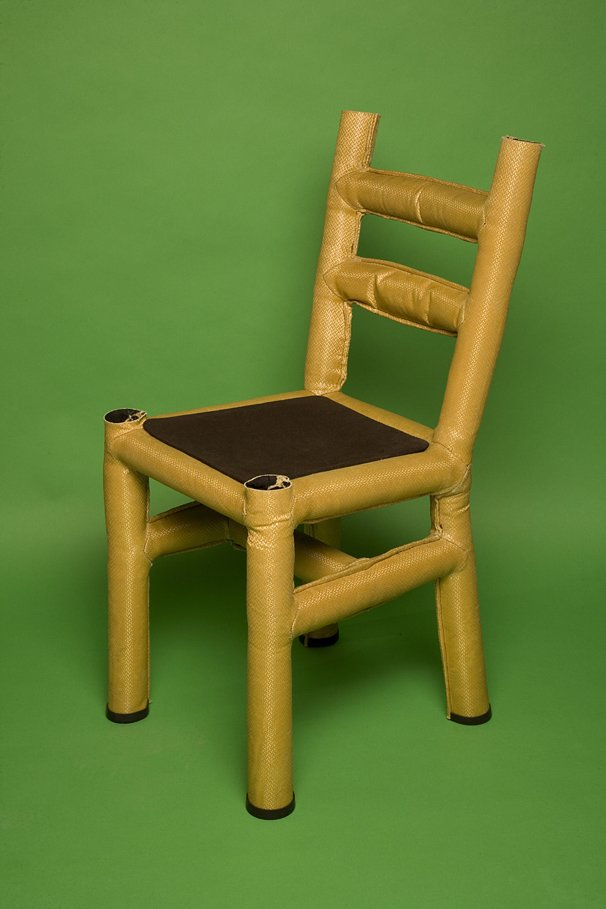 #chair #furniture #modern #design #wood #Resin #kevlar #fiber #seatingdesign #interior #fabric #chairs #color #art  Stitched Chair