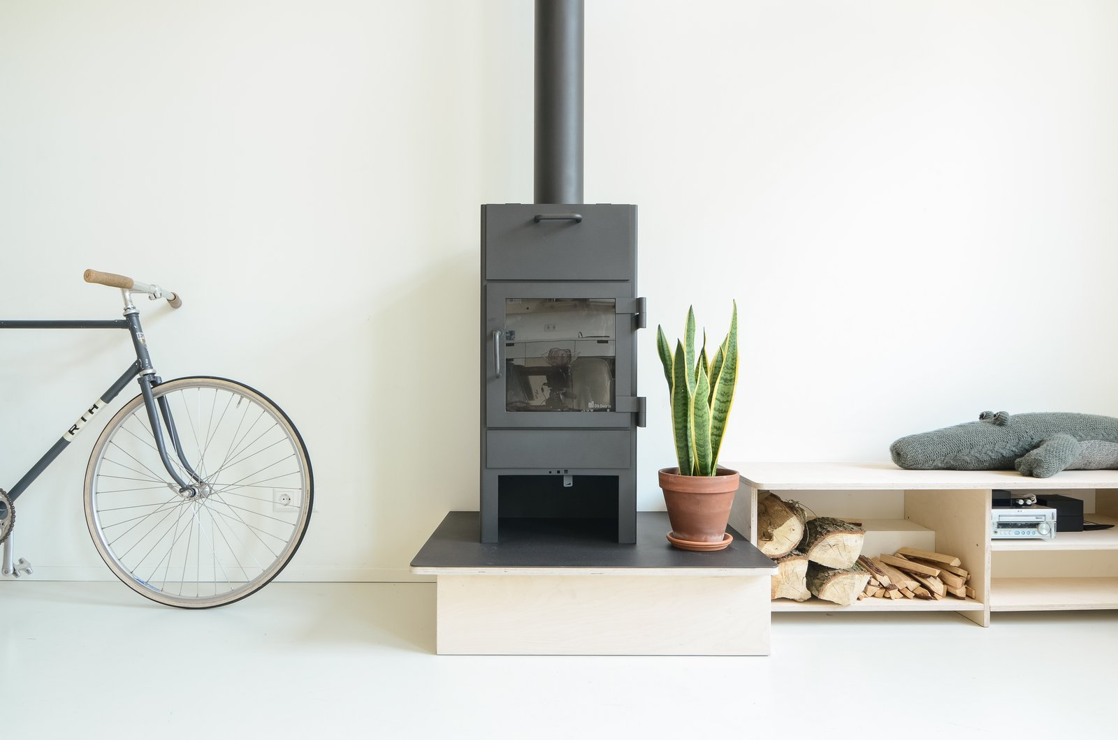 Photo courtesy of Standard Studio  97+ Modern Fireplace Ideas from Scandinavian Inspired Design