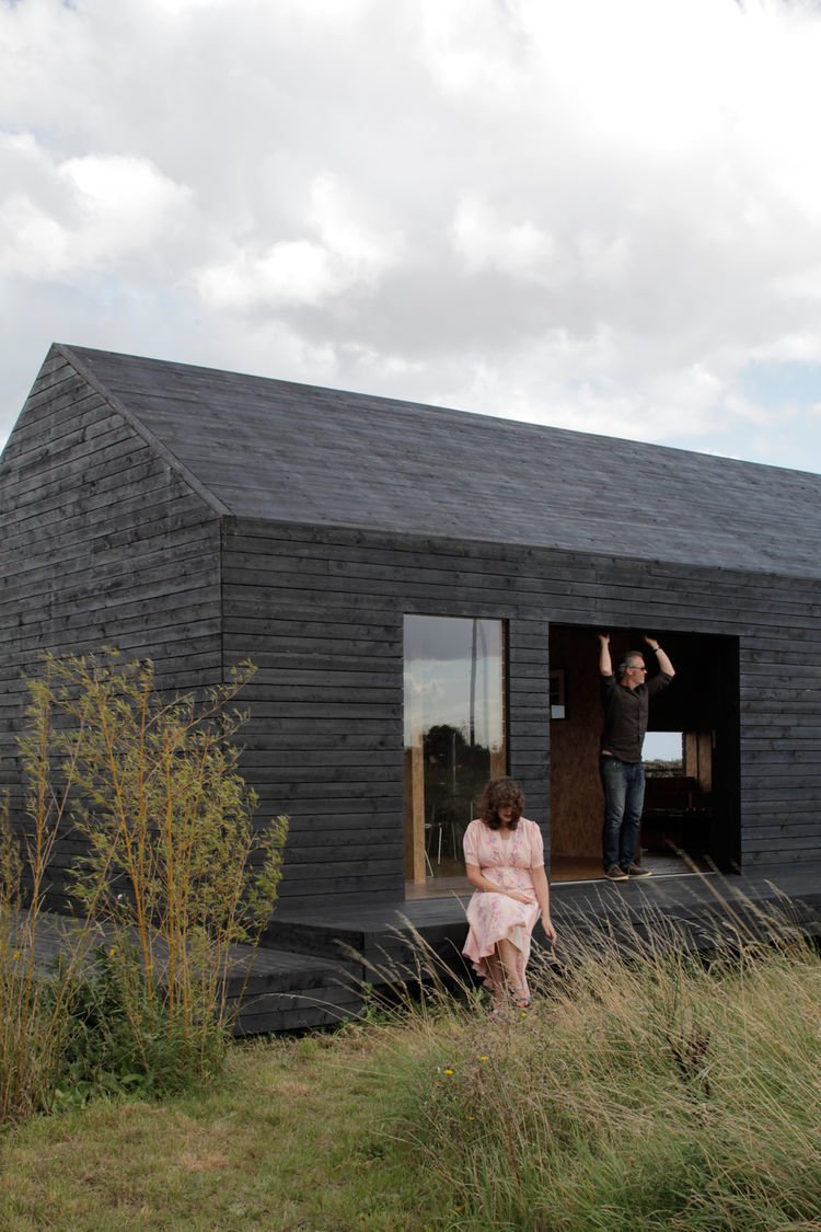 Photo by Christoffer Rudquist  Charred Wood Exteriors