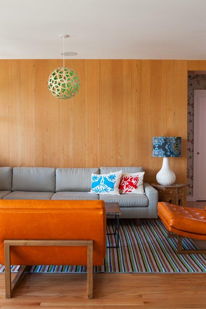#SilverLakeHouse #residence #modern #color #interior #inside #seating #livingroom #lighting #SilverLake #LosAngeles #2013 #BarbaraBestor  60+ Modern Lighting Solutions by Dwell from Silver Lake House
