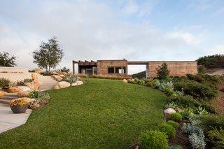 #ToroCanyonHouse #residence #modern #midcentury #exterior #outside #landscape #view #2012 #SantaBarbaraCounty #BarbaraBestor