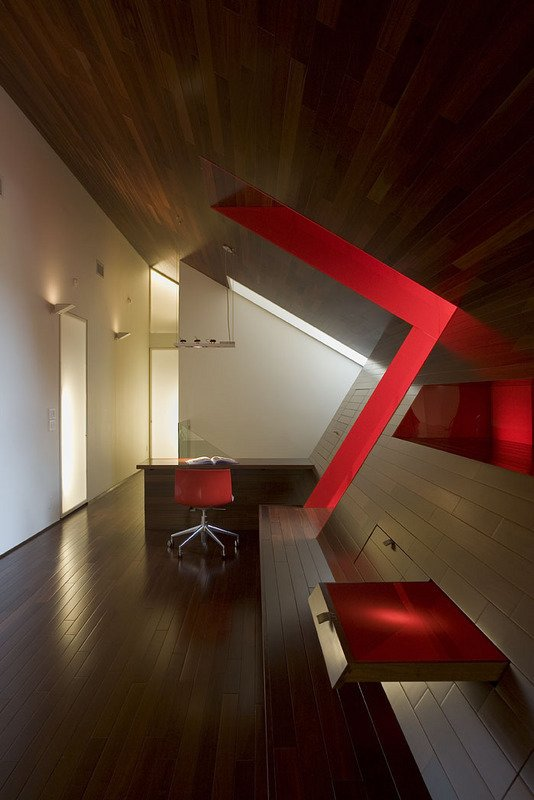 #PeninsulaResidence #lakeside #glass #steel #materials #modern #angles #abstract #lighting #seating #structure #interior #inside #indoors #LakeAustin #BercyChenStudio  The Peninsula Residence
