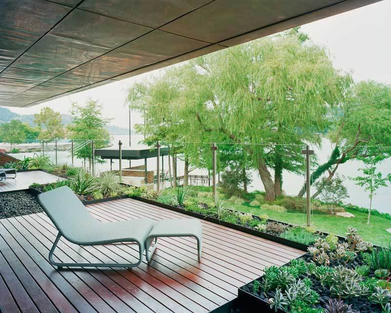 #PeninsulaResidence #lakeside #glass #steel #materials #modern #deck #seating #landscape #structure #exterior #outside #outdoors #LakeAustin #BercyChenStudio  The Peninsula Residence