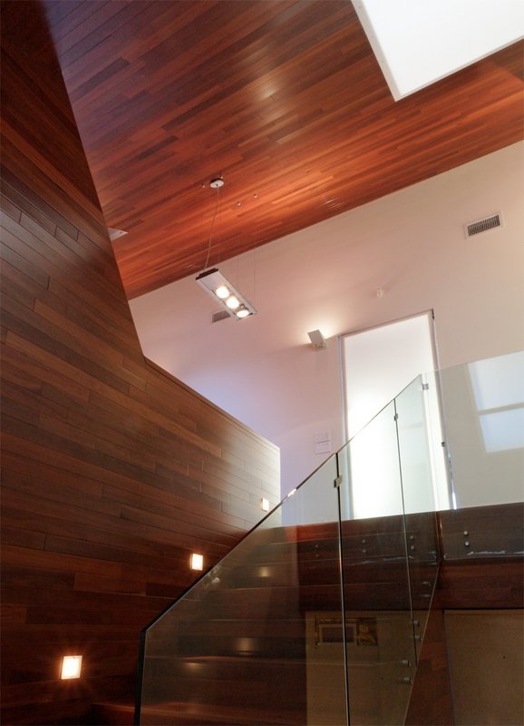 #PeninsulaResidence #lakeside #glass #steel #materials #modern #angles #staircase #structure #interior #inside #indoors #LakeAustin #BercyChenStudio  The Peninsula Residence