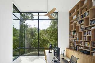 Sunken double height office