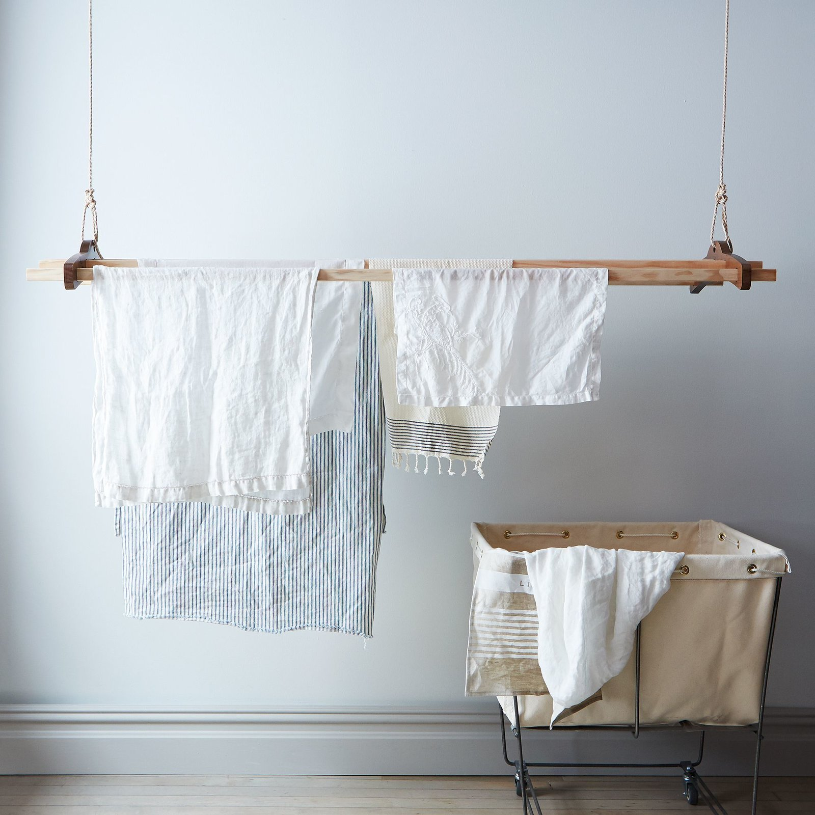 Laundry Room #Food52 #laundry #rack  Photos from Laundry