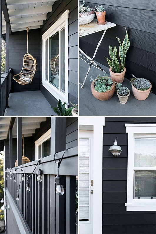 #sfgirlbybay #paintitblack  Backyard Style from Paint It Black!