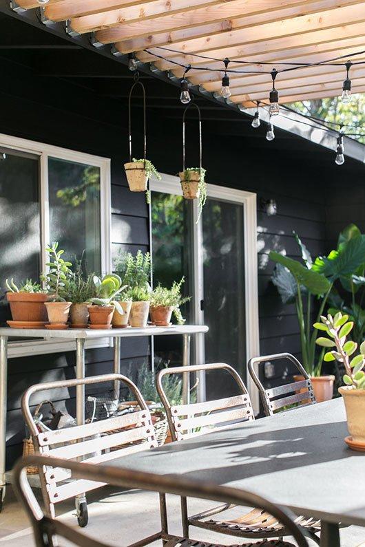 #sfgirlbybay #paintitblack  Backyard Style from Paint It Black!