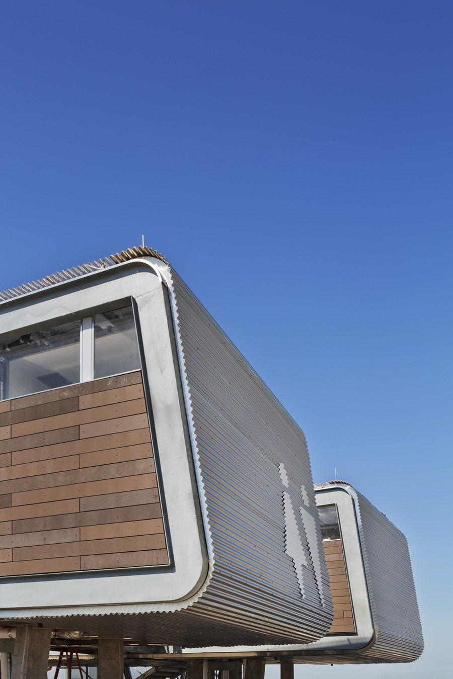 #exterior #outside #outdoor #landscape #view #industrial #publicworks #modular #sustainable #green #ecofriendly #NewYorkCity #NewYork #GarrisonArchitects  NYC Parks Beach Restoration Modules
