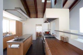 #interior #inside #indoor #wood #kitchen #industrial #HermosaBeach #California #KevinDalyArchitects