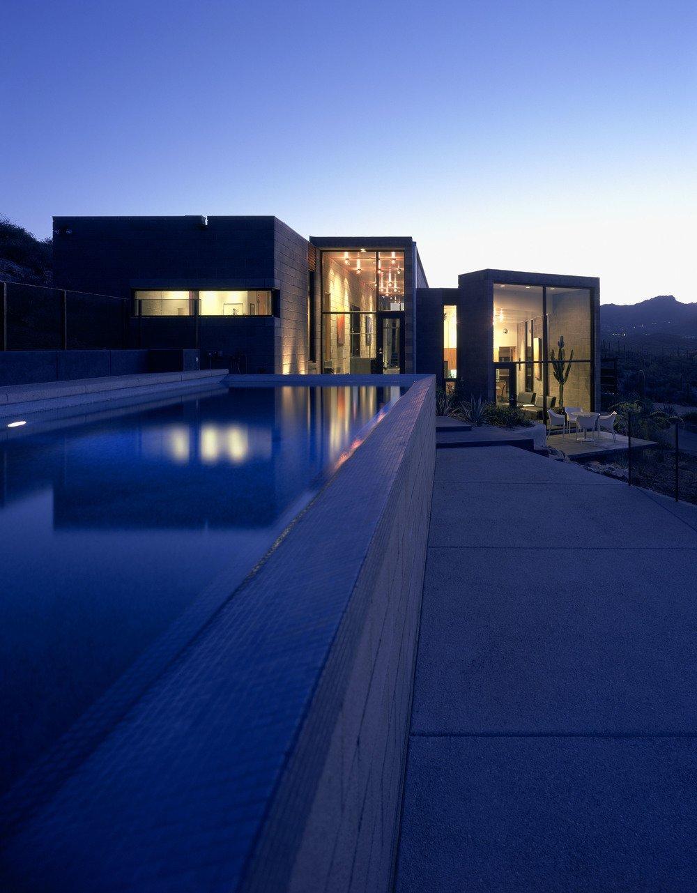 #modern #garciaresidence #ibarrarosanodesignarchitects #architecture #landscape #exterior #arizona #backyard #outdoor #seatingdesign #pooldesign #dining #openfloor  Garcia Residence
