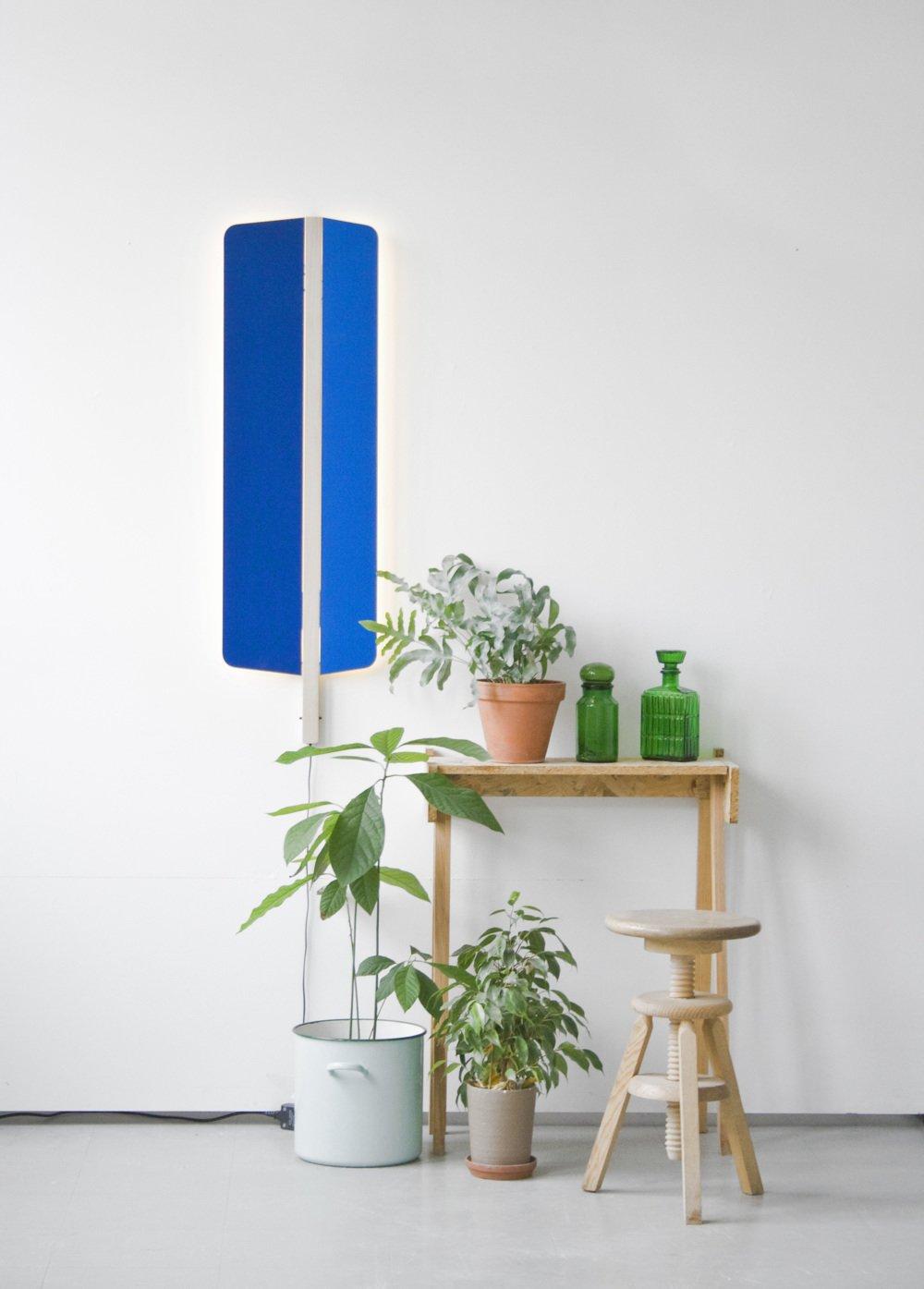 #furniture #FerréolBabin #designer #modern #set #lighting #lightdesign #royalblue #ultsmarine #voiles  60+ Modern Lighting Solutions by Dwell from VOILES Light
