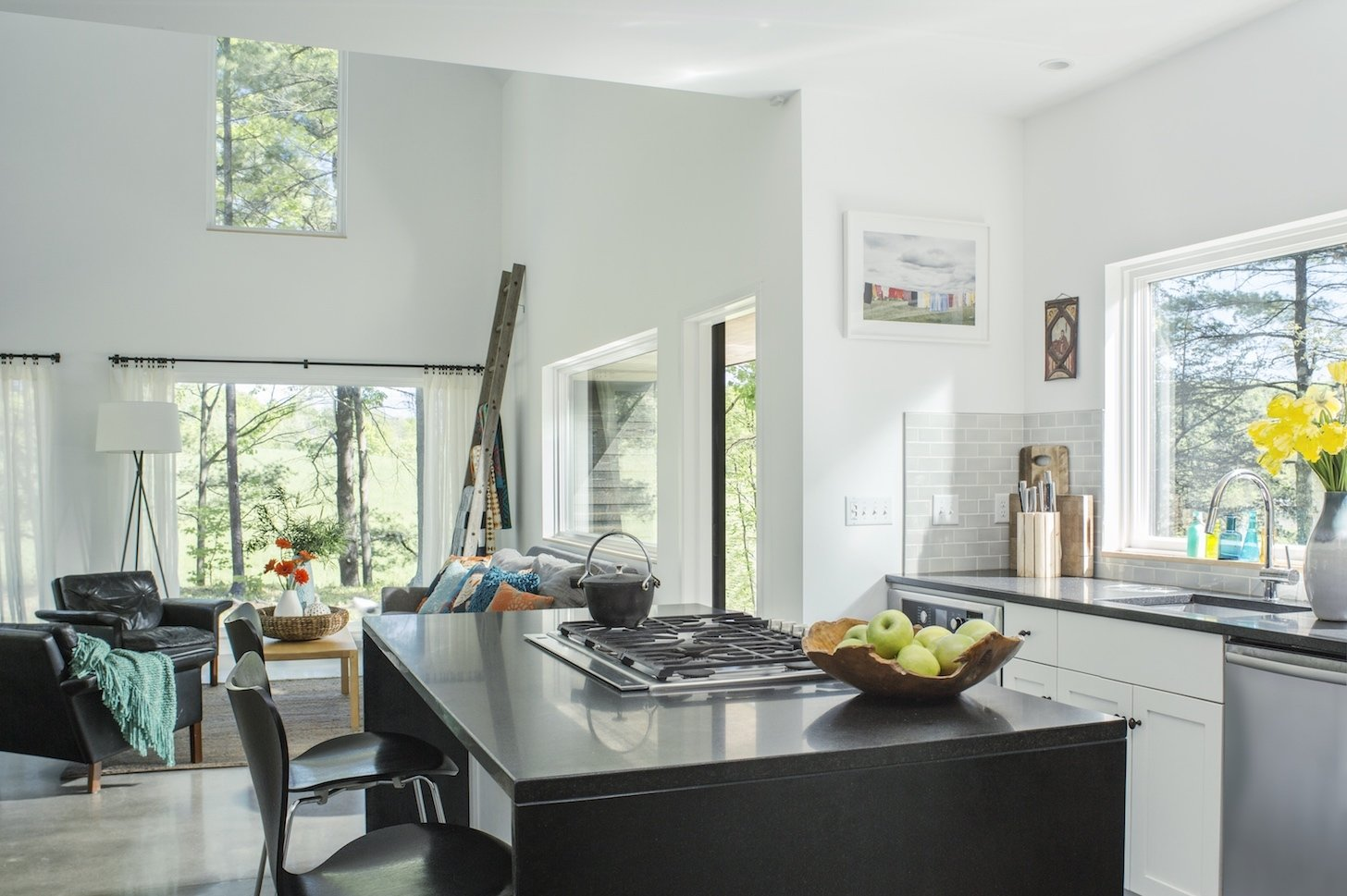 Architect Elizabeth Herrmann's Knoll House project, Best Transitional category winner of 2017 Marvin Architects Challenge.   Tagged: Kitchen.  Knoll House