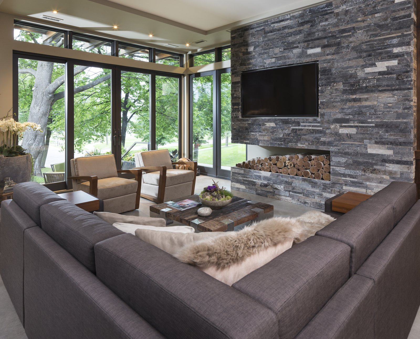 Lake Calhoun Organic Modern Modern Home In Minneapolis