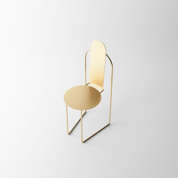 """Pudica is a minimal chair created by Brazil-based designer Pedro Paulo-Venzon. According to the designer, the Pudica Chair is an artifact that seeks syncretism between the rationalist style of the early twentieth century and the Brazilian colonial experience, embodied in the severity and economy of its forms and in the rise of a possible transcendence. Containment of an excess that poses as a brand, the piece takes up """"Brazilian"""" inheritances in the form of a contemporary displacement: it adheres to memory and time, thus establishing delicate yet sensitive interpretations."""