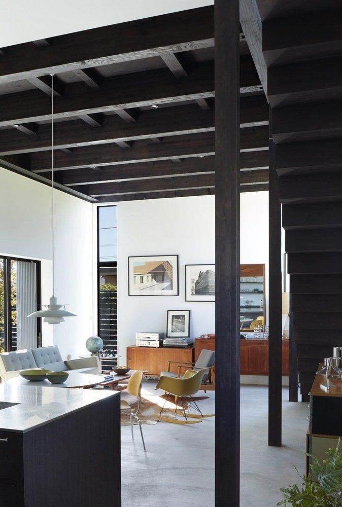 Living room  Black Box House