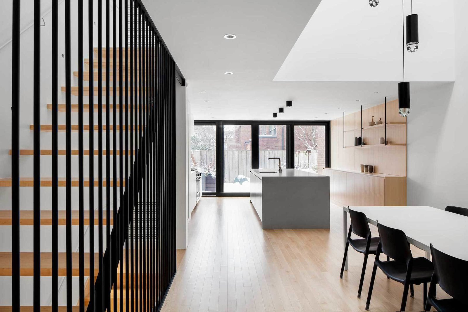 Kitchen / Dining Room  Somerville Residence