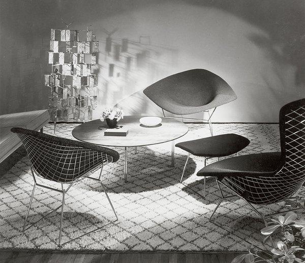 Amazing Knoll Bertoia Diamond Lounge Chair Photo Dwell Alphanode Cool Chair Designs And Ideas Alphanodeonline