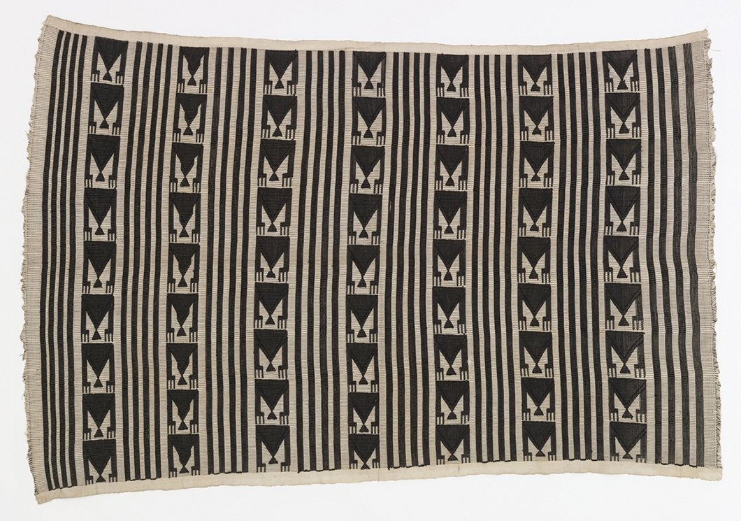 Women's wrapper from the Igbo peoples, Akwete, Nigeria, early to mid-20th century from David Adjaye Selects at the Cooper-Hewitt. Image courtesy of Cooper-Hewitt.  Photo 3 of 7 in Knoll Inspiration: In Conversation with David Adjaye