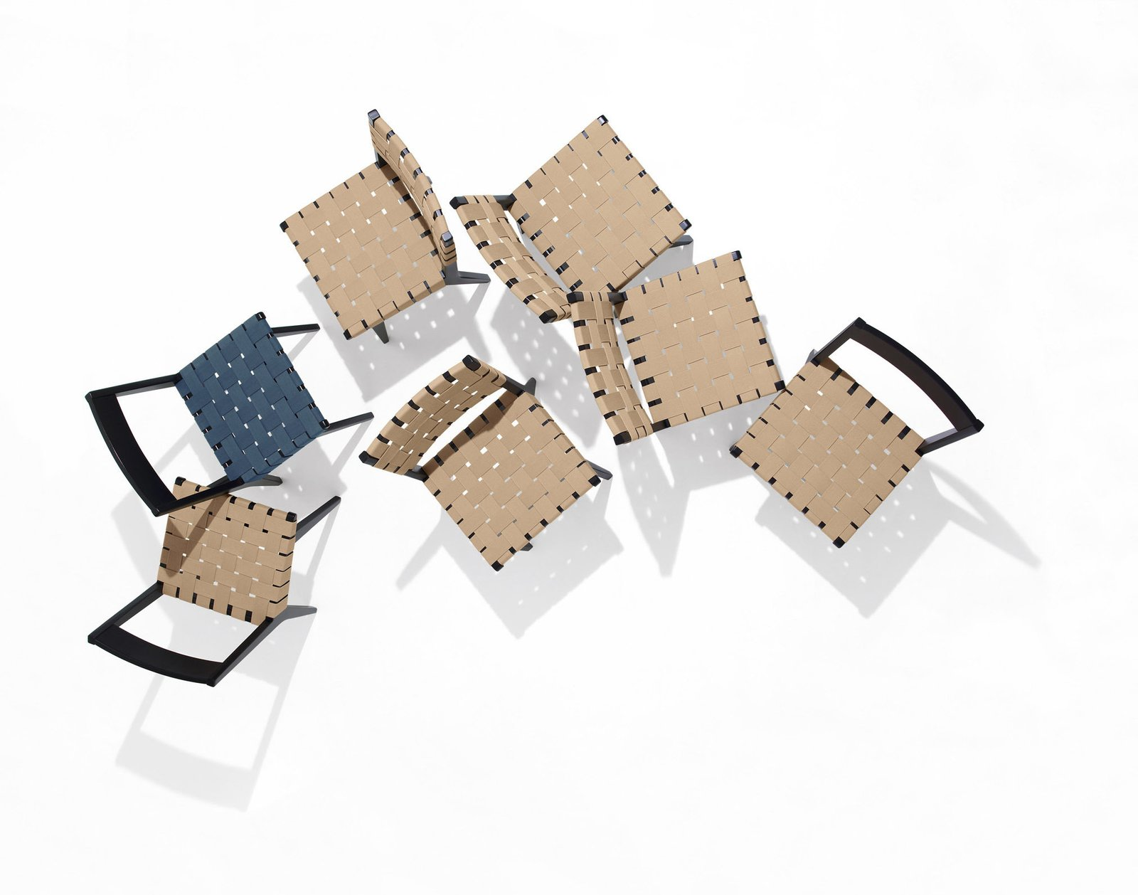Risom Side Chairs. Photography by Ilan Rubin.  Photo 10 of 10 in Knoll Inspiration: The Answer is Risom