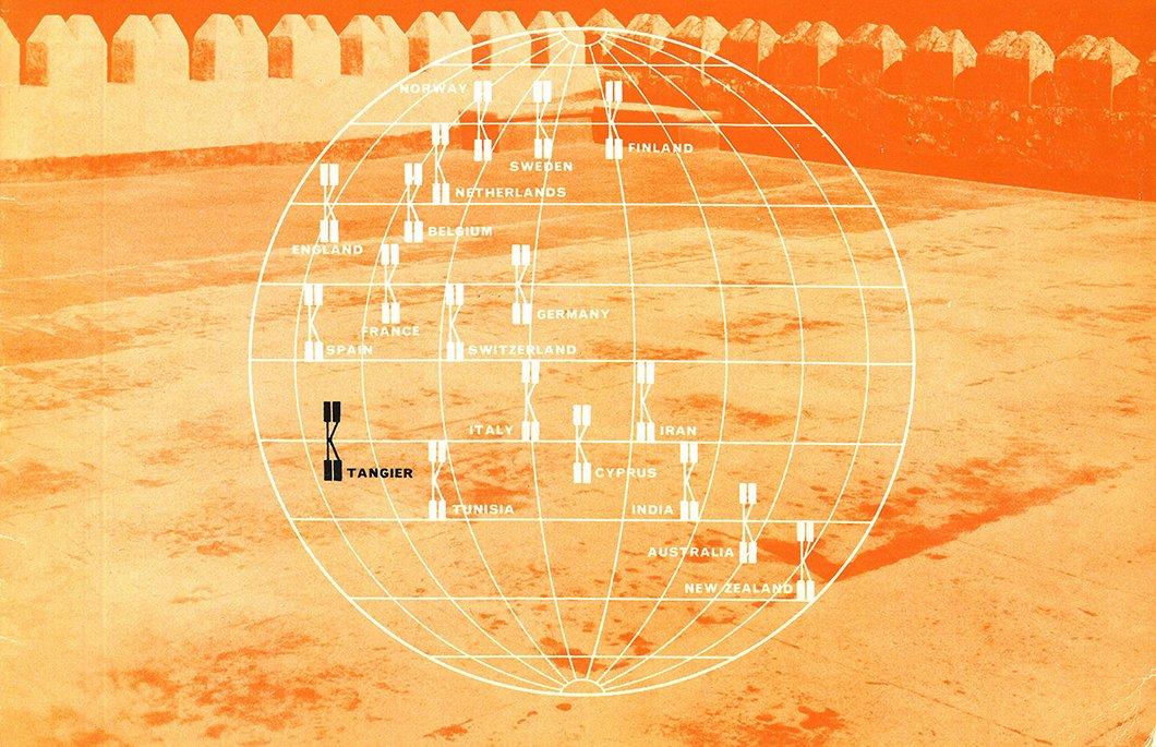 A Knoll International Brochure documenting Yves Vidal's York Castle.  Photo 2 of 12 in Morocco Modern