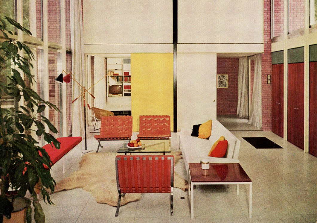 Popular for her refined aesthetic, Florence Knoll's sofa designs quickly found favor in residential spaces. Image from the Knoll Archive.  Photo 6 of 10 in Introducing New Designs Inspired by a Century of Florence Knoll