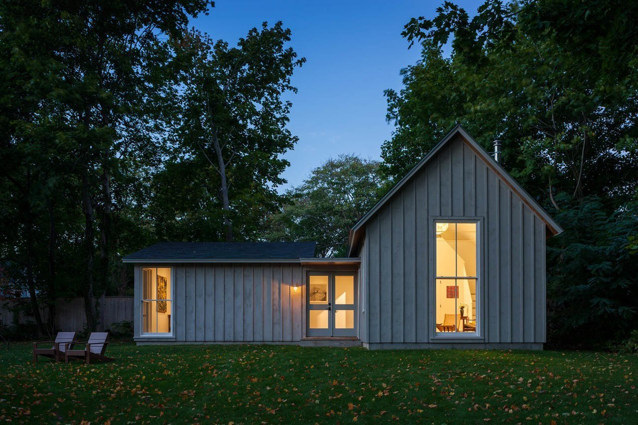 Shed & Studio and Living Space Room Type A dual work-live studio in Rhode Island.  Photo 10 of 10 in Top 10 Cities to Witness Stunning Architecture Across America